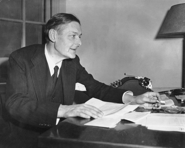 Writer T.S. Eliot