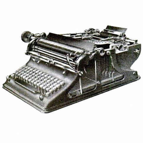 Cayzergues Typewiter Machine a Ecrire
