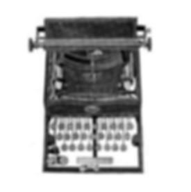 Sun Standard No.1 Typewriter