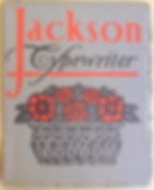 Jackson Typewriter Trade Catalog