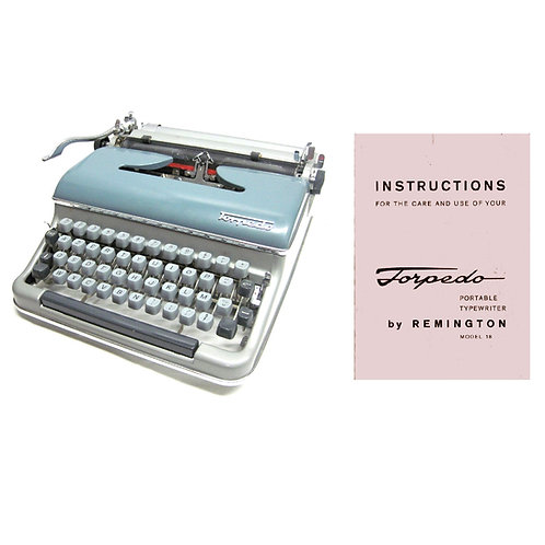 Torpedo No.18 Typewriter Instruction Manual