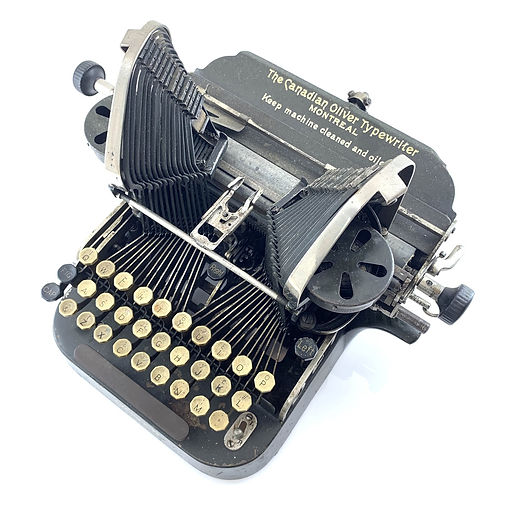 Canadian Oliver Typewriter