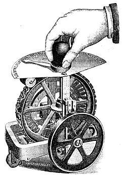 Dart Typewriter Ad 1890