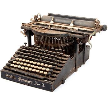 Smith Premier No.9 Typewriter