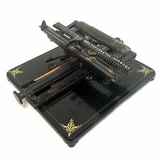 New American No.5 Typewriter