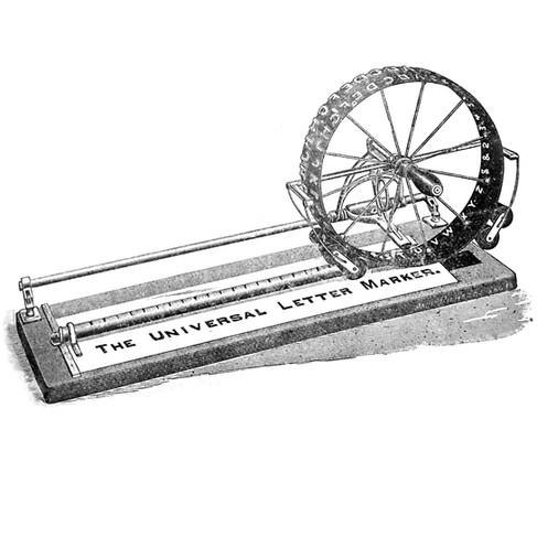 The Universal Letter Marker
