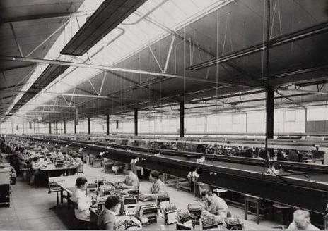 Remington Rand Typewriter Factory The Netherlands