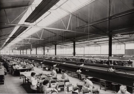 Remington Rand Typewriter Factory The Netherlands