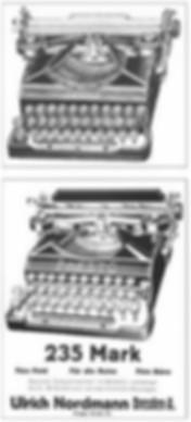 Presto Typewriter Ad