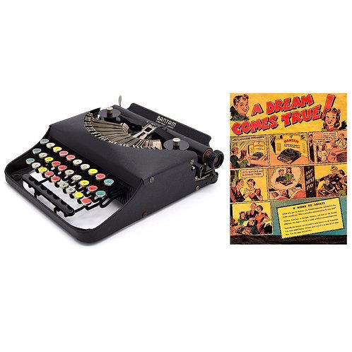 Remington Bantam Portable Typewriter Instruction Manual