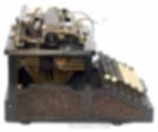 The Burns No.1 Typewriter