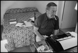 Novelist John Cheever