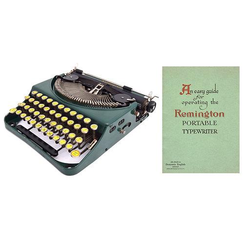 Remington No.2 Portable Typewriter Instruction Manual