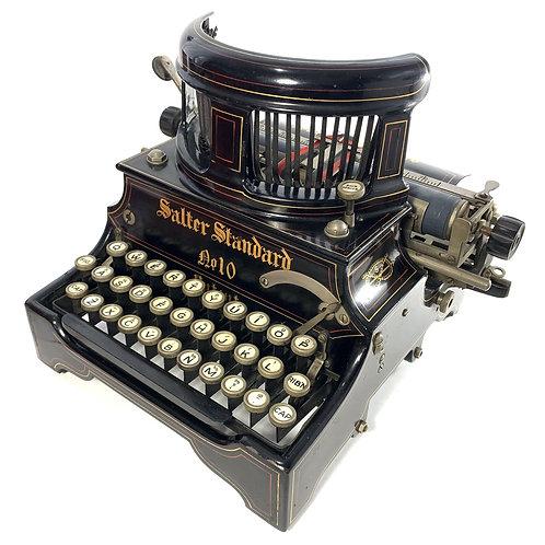 Antique Salter No.10 Typewriter ca.1908