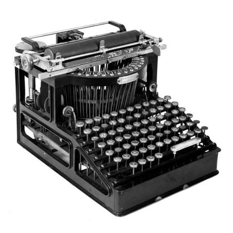 Duplex No.2 Typewriter