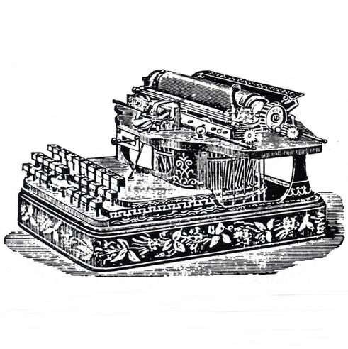 American Standard Typewriter
