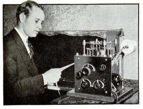 Underwood Music Typewriter
