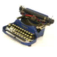 Blue Corona Special No.3 Folding Typewriter