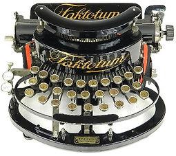 Faktotum Typewriter