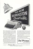 Remington Quiet Riter Typewriter Ad 1956