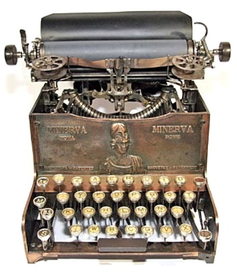 Minerva Typewriter