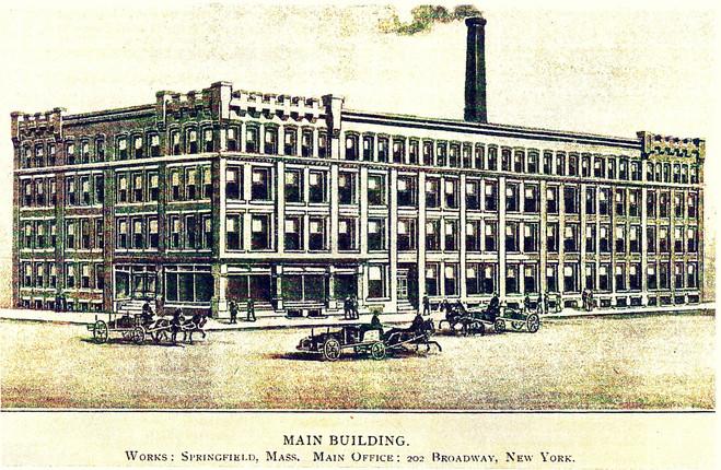 Merritt Manufacturing Company Factory