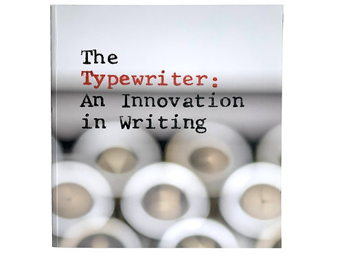 The Typewriter: An Innovation in Writing | SFO Museum