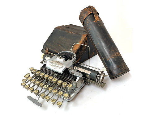 Rare 1897 Aluminum Blickensderfer No.5 Antique Typewriter