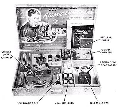 Gilbert Atomic Energy Lab Ad