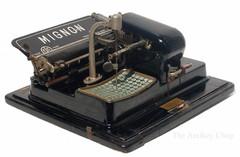 Mignon No.3 Typewriter
