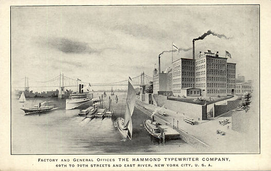 Hammond Typewriter Factory