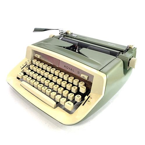 Restored Red Royal Custom Portable Typewriter