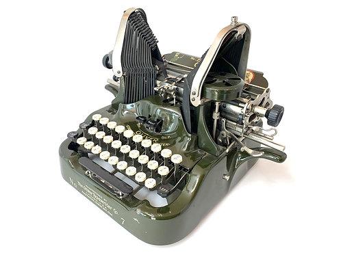 1914 OLIVER No.7 TYPEWRITER Working Antique