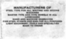 The Burns Typewriter Company
