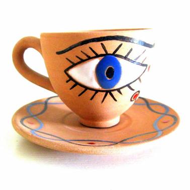 Jean Cocteau Cup & Saucer