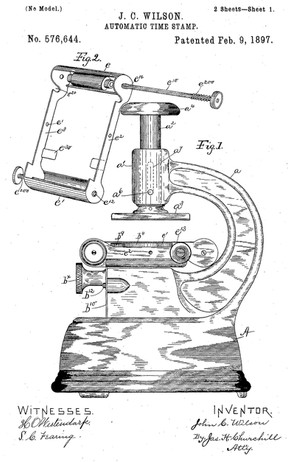 The Automatic Time Stamp Patent