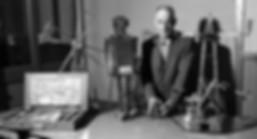 Arthur Ewing Shattuck with Erector Set