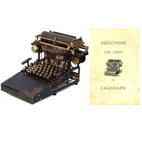 Caligraph No.1 Typewriter Instruction Manual
