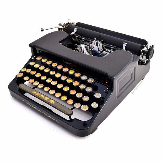 Animal Keyboard Corona Typewriter