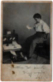 Royal Flatbed Typewriter Postcard