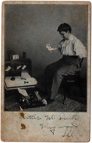Royal Flatbed Typewriter