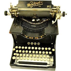 Yost No.15 Typewriter