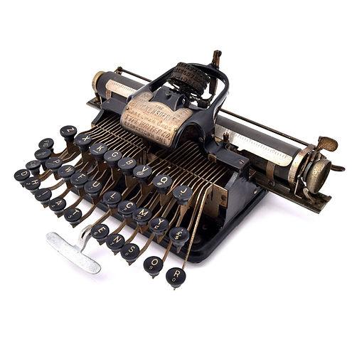 Creelman Bros Typewriter