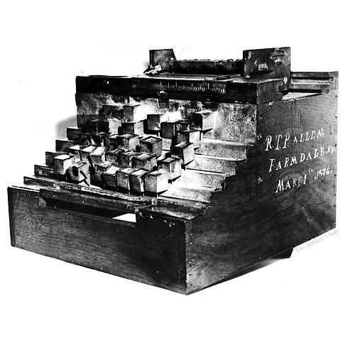 R.T.P. Allen Typewriter