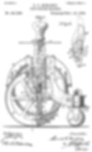 Dart Typewriter Patent 1890