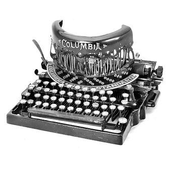 Columbia Bar-Lock No.14 Typewriter