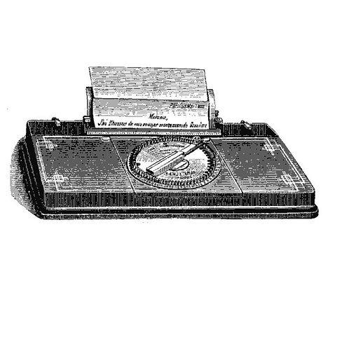 Parisienne Typewriter