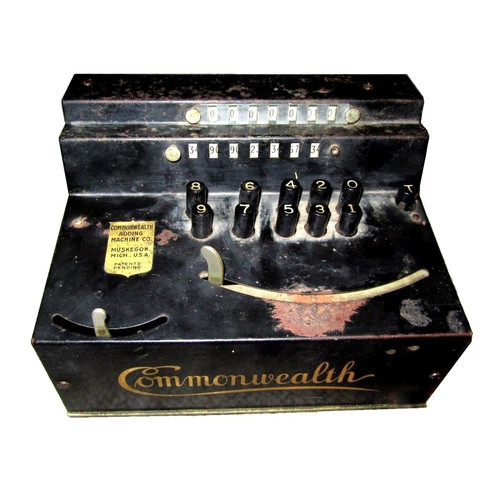 Commonwealth Adding Machine