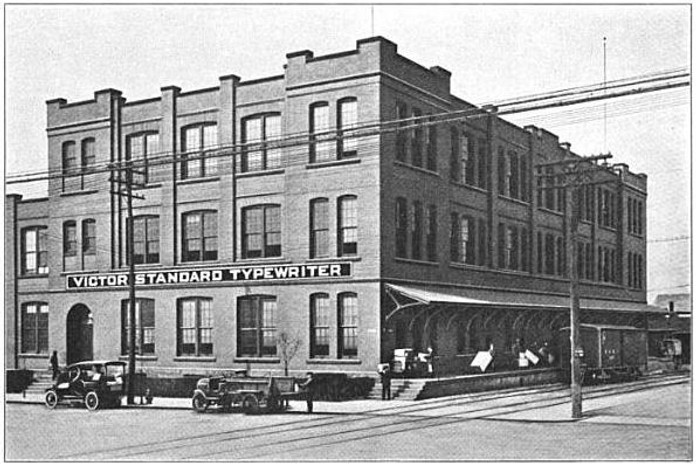 Victor Standard Typewriter Factory