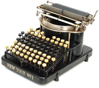 New Yost No.1 Typewriter
